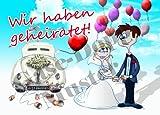 50 Hochzeit Ballon Flugkarten