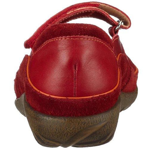 Naot Matai 11410, Ballerines femme Rouge