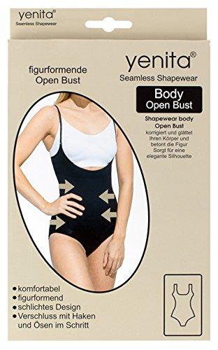 Figurformender Damen Body ohne Brustteil, Shapewear - Mieder Bodysuit Haut
