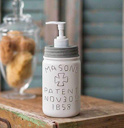 ctwh Weiß Pint Mason Jar Seifenspender Pint Mason Jar