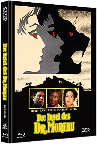 Die Insel des Dr. Moreau [Blu-Ray+DVD] auf 333 limitiertes Mediabook Cover B