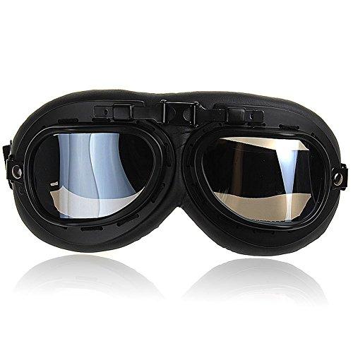 Fletion Raf Pilot,Scooter Biker,Motocross,Fliegerbrille,Motorrad Schutzbrillen,Sport Schutzbrille Sun UV Wind Eye Schutz Helm brille