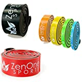 ZenBands Power X-Heavy Sport Gummiband Fitness I Fitnessbänder in 6 Stärken inkl. GRATIS E-Book & Workout-Guide I Das Premium Elastikband für Crossfit, Krafttraining, Stretching I Klimmzug-Band