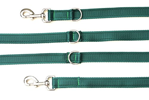 8ft11ft-police-style-training-obedience-multi-functional-dog-lead-25mm-cushioned-webbing-various-col