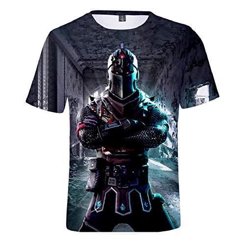Agolod t-shirt da gioco con stampa 3d per bambini e ragazzi