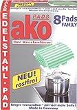 "Pads ""ako Pads"" AKO PADS 8ER EDE LSTAHL 2258.08(Liefermenge=3)"
