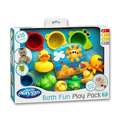 TW24 15-teiliges Badespielzeug-Geschenkset - Badewannenspielzeug - Baby Badespielzeug - Kinder Badewannenspielzeug Set