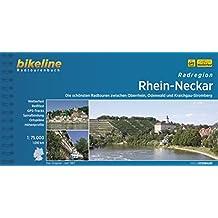 Radatlas Rhein-Neckar: Radwandern im Rheintal, im Odenwald und im Kraichgau-Stromberg. 975 km (Bikeline Radtourenbücher)