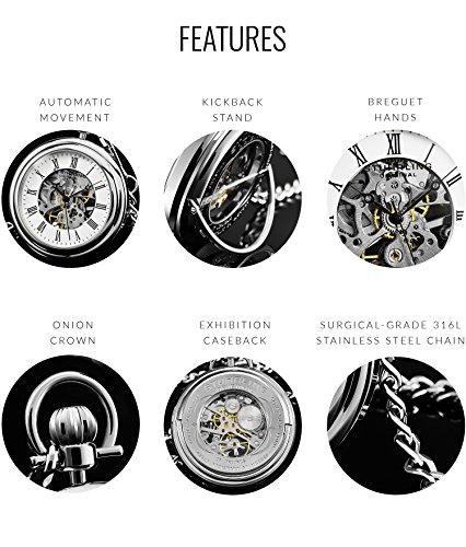Stuhrling-Original-Herren-Jahrgang-Mechanisches-Wind-skelett-Edelstahl-47mm-Taschenuhr-mit-12-Silber-Kette-und-Grtel-Clip-19-Juwelen-30-Stunden-Power-Reserve