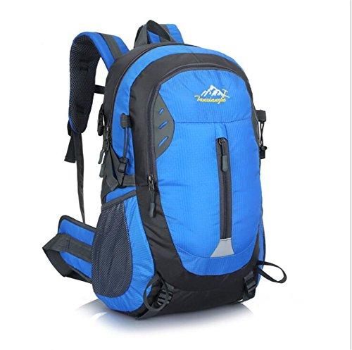 Wmshpeds Borsa a tracolla femmina alpinismo outdoor bag borsa da viaggio versione coreana di marea Sport Tempo libero Zaino computer E
