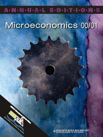 Microeconomics 00/01 (Annual Editions)