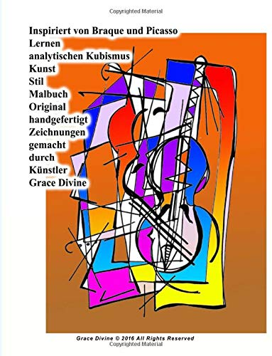 Inspiriert von Braque und Picasso - Analytischer Kubismus malen lernen