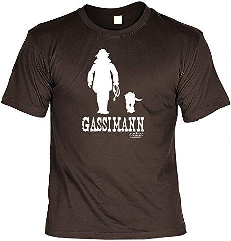 Fun T-Shirt Hund - Gassimann - lustiges Geschenk für Hundehalter