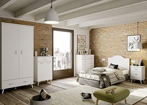 Miroytengo Pack Muebles Dormitorio Juvenil Tina Vintage
