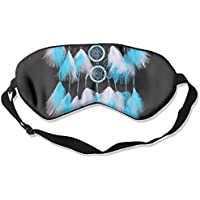 Comfortable Sleep Eyes Masks White Dreamcatcher Wind Pattern Sleeping Mask For Travelling, Night Noon Nap, Mediation... preisvergleich bei billige-tabletten.eu