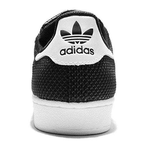 adidas Sneaker Superstar Mesh Nero/Bianco EU 43 1/3 (UK 9) CBLACK/FTWWHT/FTWWHT