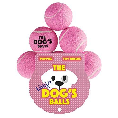 The Dog's Balls Der Hundeball Für Hunde. Der Ball Zum Spielen Und - Pinke Tennisbälle