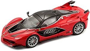 """Bburago B18-36906""""Ferrari FXX-K"""" fundido Kit de modelo, 1: 43Escala, surtido: colores aleatorios"""