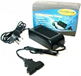 Powakaddy Compatible 12v-4Aamp Golf Battery Charger (Automatic) by Puredrive Batteries