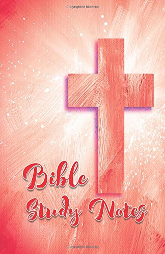 bible-study-notes-red-55x85-cross-design-bible-study-notes-120-lightly-lined-pages-journal-softcover