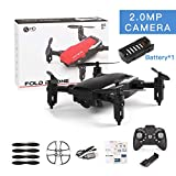 YUnnuopromi RC Hobby 2,4 GHz 4 Kanäle Gyro 360 Flip Falt Barometer Position Quadcopter Rot 2.0MP Camera
