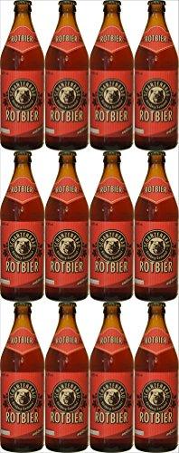 Schanzenbräu - Rotbier (12x0,5l Flaschen) I Bierpaket von Bierwohl