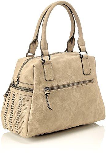 Gabor Rucksack Damen Hanne, 8x29x27.5 cm, Rucksackhandtasche