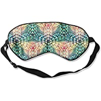 Sleep Eye Mask Geometry Abstract Lightweight Soft Blindfold Adjustable Head Strap Eyeshade Travel Eyepatch E3 preisvergleich bei billige-tabletten.eu