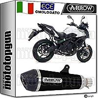 ARROW Tubo de Escape homologado X-KONE CARBY NICHROM Negro Kawasaki VERSYS 650 2018 18
