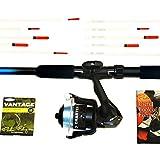 Fladen Xmas Special – 2,10 m langes komplettes Grobfisch-Set – 25 bis 50 g Cw Teleskop-Spinnrute/Rolle / Schnur/Endgerät & Handbuch – Ideales Starter-/Einführungs-Set [40-AMZ001]