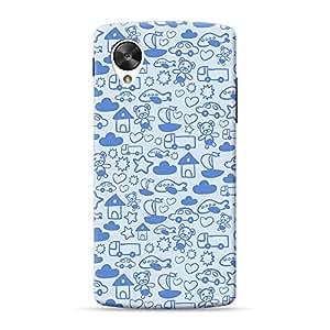 Mobile Back Cover For LG Nexus 5 (Printed Designer Case)