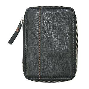 diabag ONE mini Leder Diabetiker Etui, Zubehör und Insulinpumpen Tasche Schwarz (10,5 x 15 x 3 cm), 106