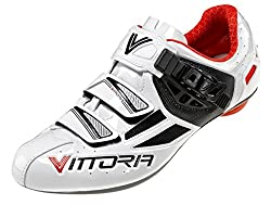 Vittoria Speed Cycling Shoes White/Red 38.5 M EU / 6.5 D(M) US