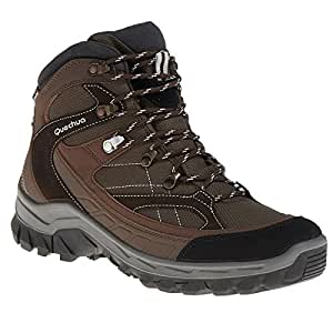 QUECHUA FORCLAZ 100 HIGH MEN'S - BROWN (39)