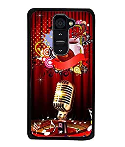 PrintVisa Designer Back Case Cover for LG G2 (multicolor beautiful musical designer pattern)