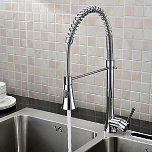 MK Küche Wasserhahn, modernes herausziehbarer Brause/Pre Rinse Messing, chrom