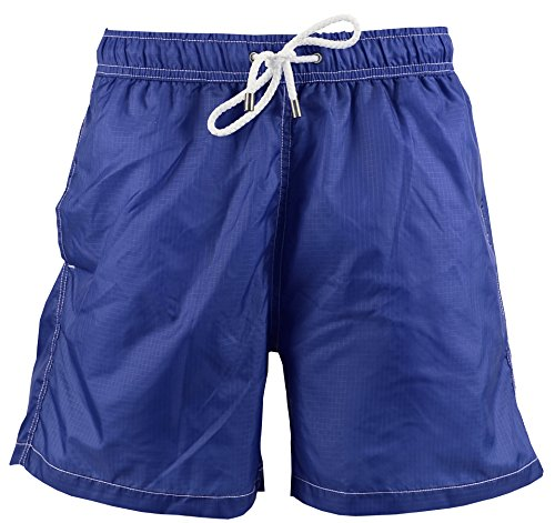 Red Point Beachwear, Herren, Badeshorts, Iker, Ünifarbene Kollektion Blau