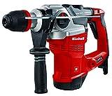 Einhell Bohrhammer TE-RH 38 E (1050 W, 9 J, Bohrleistung Ø 38 mm, SDS-Max-Aufnahme, Metall-Tiefenanschlag, Virbrationsdämpfung mit Andruckanzeige, Koffer)