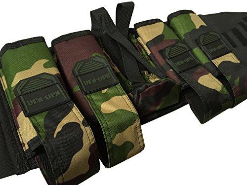 cksn deniable-ops 4+ 1'RECON' leicht Paintball und tankholder Battle Pack/Geschirr. 4Farben Paintball Scenario mil-sim woodsball, Herren damen, Recon, Woodlang / Camouflage