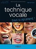 La technique vocale (1Cédérom)