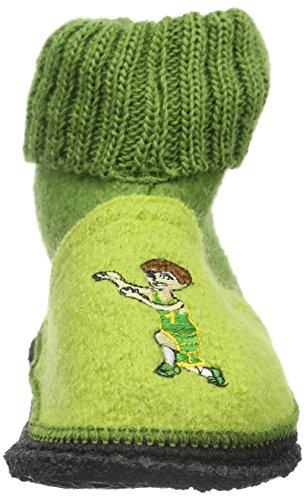 Kitz - Pichler Schwaz Basketballer, Chaussons mixte enfant Vert - Grün (jasmine 4051)