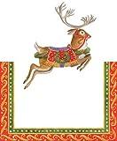Decorazioni segnaposto tavola di Natale Merry Go Round PK 8, Carta, Multicolor, Confezione da 8