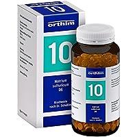 Biochemie Orthim 10 Natrium sulfuricum D 6 Tablett 800 stk preisvergleich bei billige-tabletten.eu