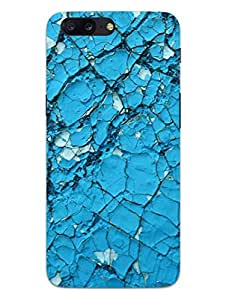 OnePlus 5 Back Cover - Crack Wall - Pattern - Hard Shell Back Case