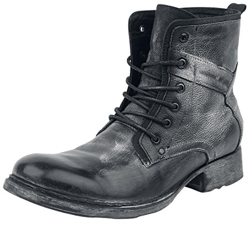 Black Premium by EMP Lace-Up Boot Anfibi/Stivali nero EU43