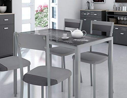 Mesas de cocina de cristal - Las mas mesas mas bonitas de 2020
