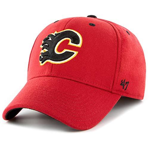 7cf7547dd4dcc4 47 NHL Calgary Flames Kickoff CONTENDER Stretch Cap – Cotton Blend Unisex  Baseball Cap Premium Quality