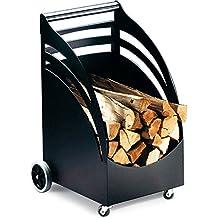 panier a buches a roulettes. Black Bedroom Furniture Sets. Home Design Ideas