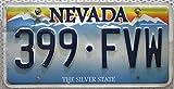 USA Nummernschild NEVADA The Silver State ~ US Kennzeichen ~