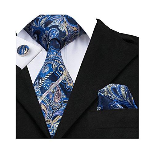 hi-tie-corbata-para-hombre-azul-azul-talla-unica